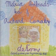 CD - Deťom 1 - ľudové piesne pre najmenšie deti