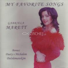 CD - My favorite songs - Bonus: Duety s Michalom Dočolomanským