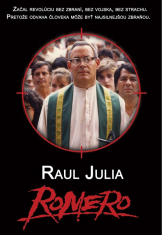 DVD - Romero - Začal revolúciu bez zbraní, bez vojska, bez strachu. Pretože odvaha človeka môže byť najsilnejšou zbraňou.
