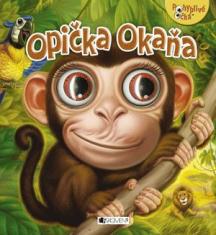 Opička Okaňa - Pohyblivé očká