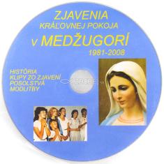 DVD - Zjavenia Kráľovnej pokoja v Medžugorí 1981 - 2008 - História, klipy zo zjavení, posolstvá, modlitby