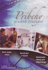 DVD - Príbehy písané životom - 1. séria - dokumentárne filmy