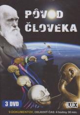 3 DVD - Pôvod človeka