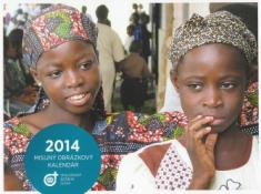 Kalendár 2014 misijný - nástenný