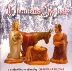 CD - Slovenské ľudové vianočné koledy - v podaní ľudovej hudby Cifrovaná muzika