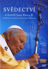 DVD: Svědectví o životě Jana Pavla II. - Vzpomínky kardinála Stanislawa Dziwisza