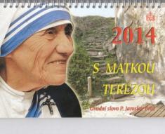 Kalendář 2014 s Matkou Terezou - stolní, týdenní