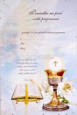 Pamiatka na 1. sväté prijímanie (pamätný list)
