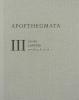 Apofthegmata III. - Výroky a příběhy pouštních otců
