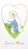 Skladačka: Zdravas´ Mária - modlitba s obrázkami