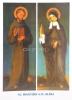 Pohľadnica: Sv. František a sv. Klára