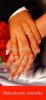 Záložka: Blahoslavení manželia (Z-129SK) - kartónová záložka s modlitbou
