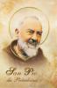 Obrázok v púzdre: sv. páter Pio (634A) - s relikviou a požehnaním