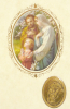 Kartička: Sv. rodina (RCC) - Modlitba za rodičov, Modlitba rodičov za svoje dieťa, plastová