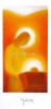 Pozdrav: Matka Božia nad jasličkami - s textom - s obálkou