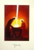 Pozdrav: Príchod Svetla z neba do Betlehema - bez textu (PZ010) - s obálkou