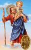 Kartička: Svätý Krištof (RCC) - Modlitba vodiča auta, plastová