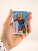 Kartička: Svätý Krištof (RCC) - Modlitba vodiča auta, plastová - fotografia 4