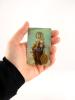 Kartička: Škapuliarska Panna Mária (RCC) - s modlitbou, plastová - fotografia 4