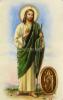 Kartička: Svätý Júda Tadeáš (RCC) - s modlitbou, plastová