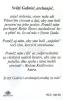 Kartička: Gabriel archanjel (RCC) - s modlitbou, plastová - fotografia 3