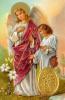 Kartička: sv. Rafael archanjel (RCC) - s modlitbou, plastová
