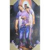 Obraz na dreve: Pán Ježiš a hriešnik (40x20)