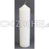 Sviečka: kostolná 700g - biela