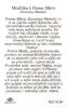 Kartička: Panna Mária Zázračnej medaily (RCC) - s modlitbou, plastová - fotografia 3