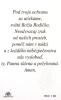 Kartička: Srdce Panny Márie (RCC) - s modlitbou, plastová - fotografia 3