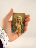 Kartička: Srdce Panny Márie (RCC) - s modlitbou, plastová - fotografia 4