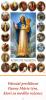 Záložka: Prisľúbenia Panny Márie tým, ktorí sa modlia ruženec - laminovaná