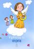 Omaľovánka - Vymaľuj si anjela