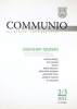 Communio 2-3/2011 - John Henry Newman - Mezinárodní katolická revue 15. ročník - fotografia 2