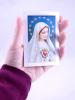 Skladačka: Nepoškvrnené srdce Panny Márie - s modtlitbou zasvätenia, papierová - fotografia 5