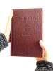 Sväté písmo - Jeruzalemská Biblia (stredná, hnedá s reliéfom) - fotografia 5
