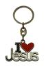 Kľúčenka: I ♥ Jesus, kovová  (K2721)