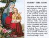 Obrázok: Sv. Anna (35) - Modlitba v ťažkej chorobe, laminovaný