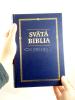 Svätá Biblia - Roháček, rodinný formát - modrá - fotografia 5