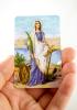 Kartička: Sv. Filoména (RCC 149 SK) - s modlitbou, plastová - fotografia 4