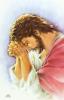 Obrázok: Ranná modlitba posledných optinských starcov (Z015) - laminovaný