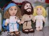 Sada: Ježiš, Mária, Anjel - plyšové postavičky