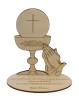 Citát na dreve: Sväté prijímanie nás oblieka (KALICH 3D) - fotografia 2