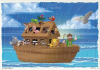 Puzzle: Noe a zvieratká - 35 dielikov