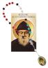 Sada: ruženec Sv. Šarbela s modlitbou (Z023)