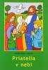 Omaľovánka - Priatelia v nebi - omaľovanka s textom