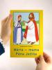 Omaľovánka - Mária, mama Pána Ježiša - omaľovanka s textom - fotografia 5