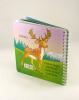 Lesné zvieratká - kniha s obrázkami na vymaľovanie - fotografia 4