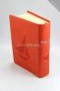 Biblia - oranžová - koženka - fotografia 4