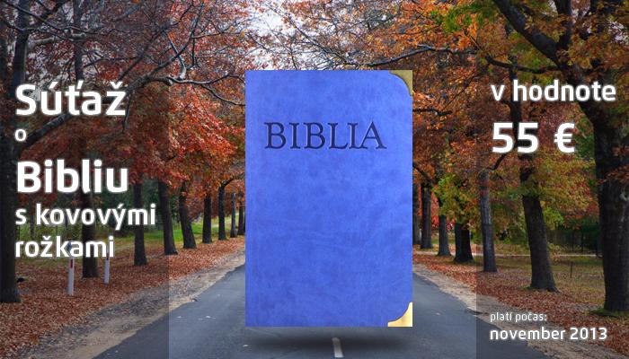 Súťaž o Bibliu s kovovými rožkami